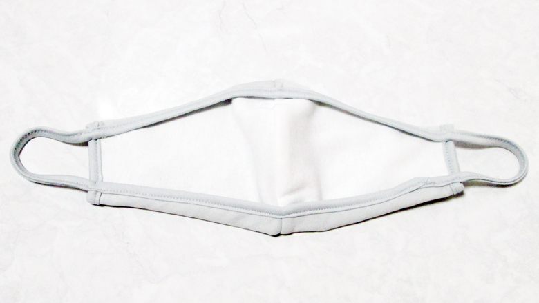 画像:AOKIマスクのサイズを調整